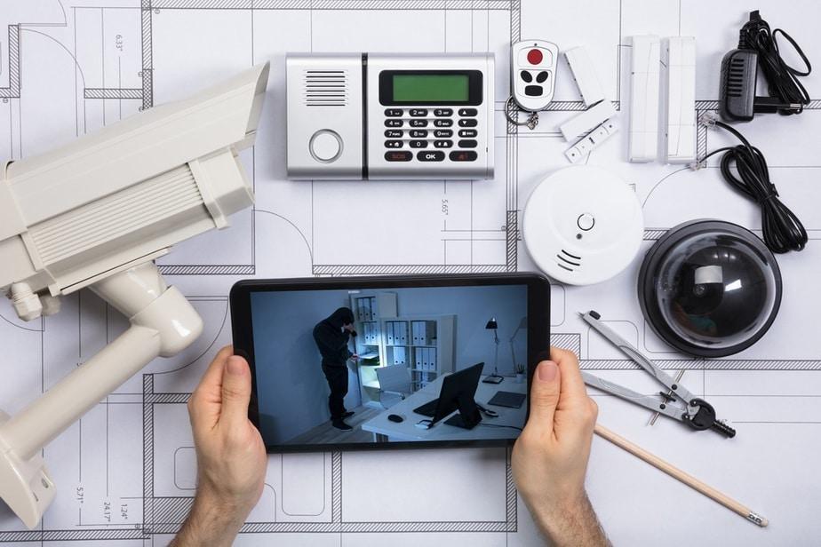 motion sensor security camera