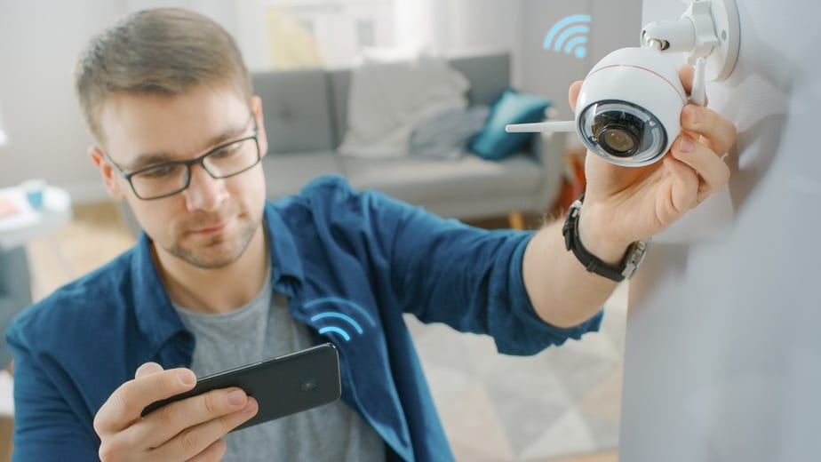 how to install cctv camera in home