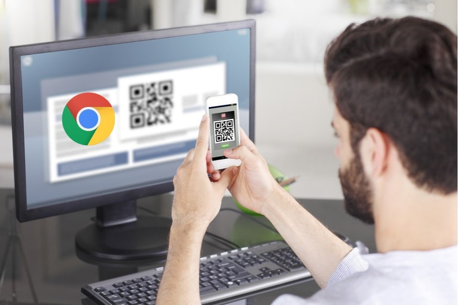 Generate a QR Code for URL in Google Chrome