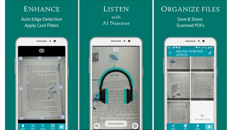 AIR Scanner, Indian scanner app for Android
