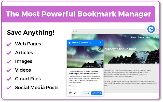 bookmark extension chrome