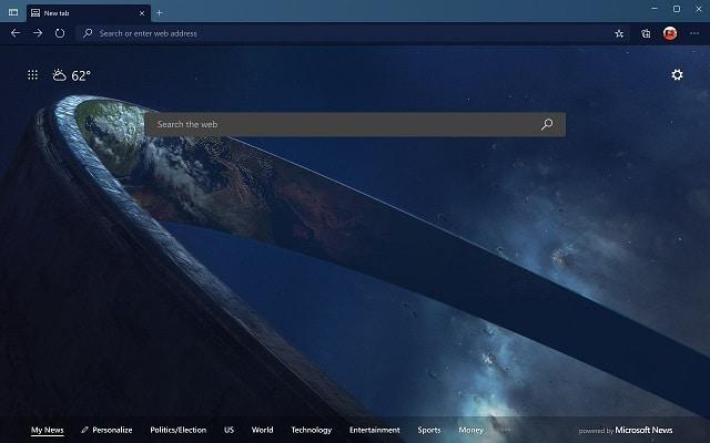 Microsoft Edge themes