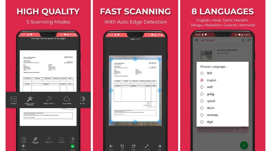 Kaagaz Scanner - indian document scanner app
