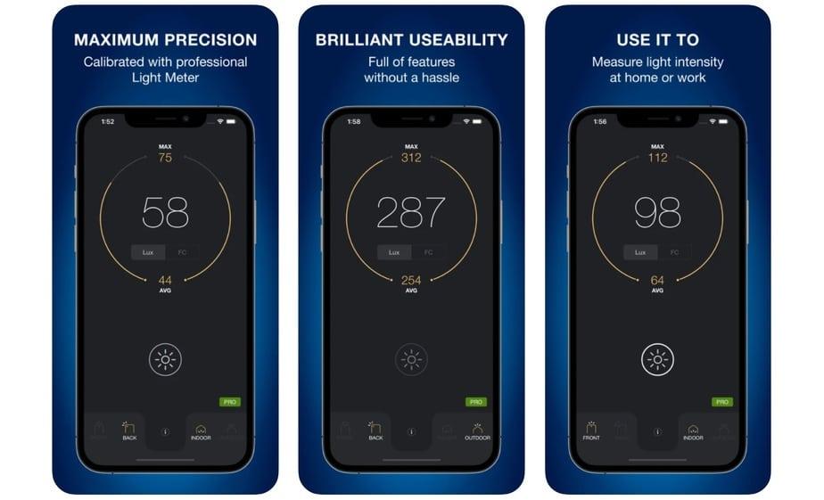 light meter app for plants