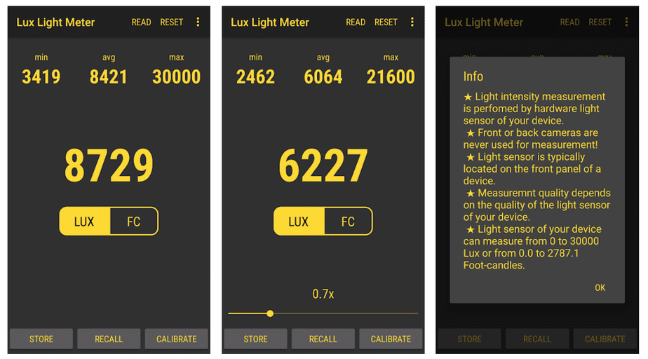 light meter app for plants android