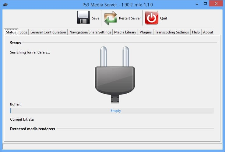 Media server software for Windows 10