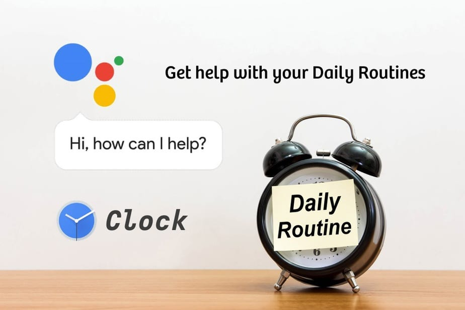 Set Up Assistant Routines in Google Clock on Android