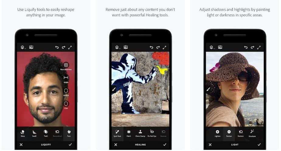 photoshop face app, photoshop makeup app