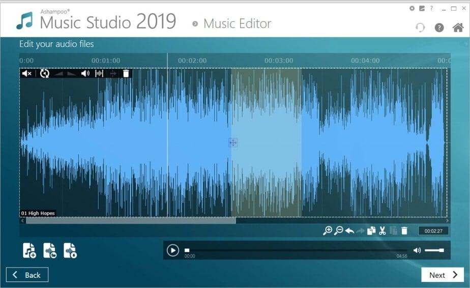music editor windows 10