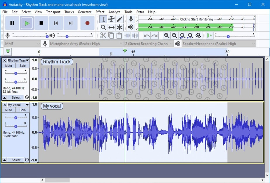 free audio software for windows 10