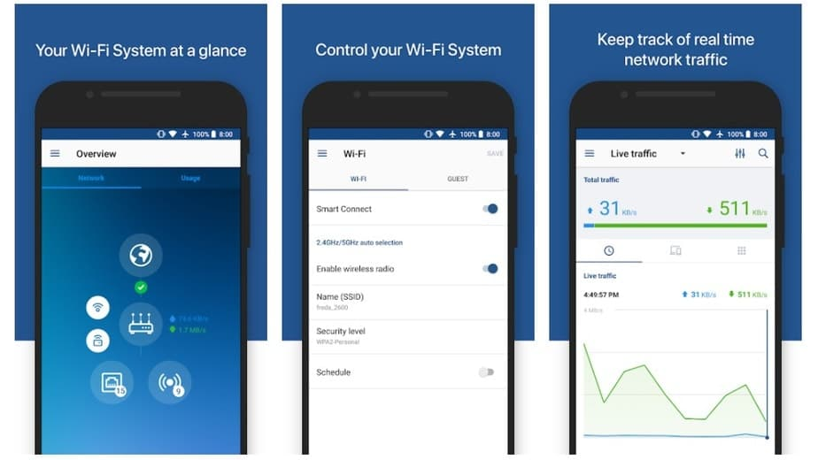 wifi router controller android