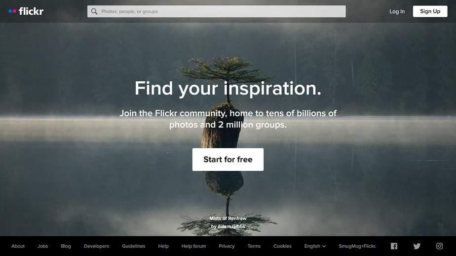 Flickr - site like photo bucket