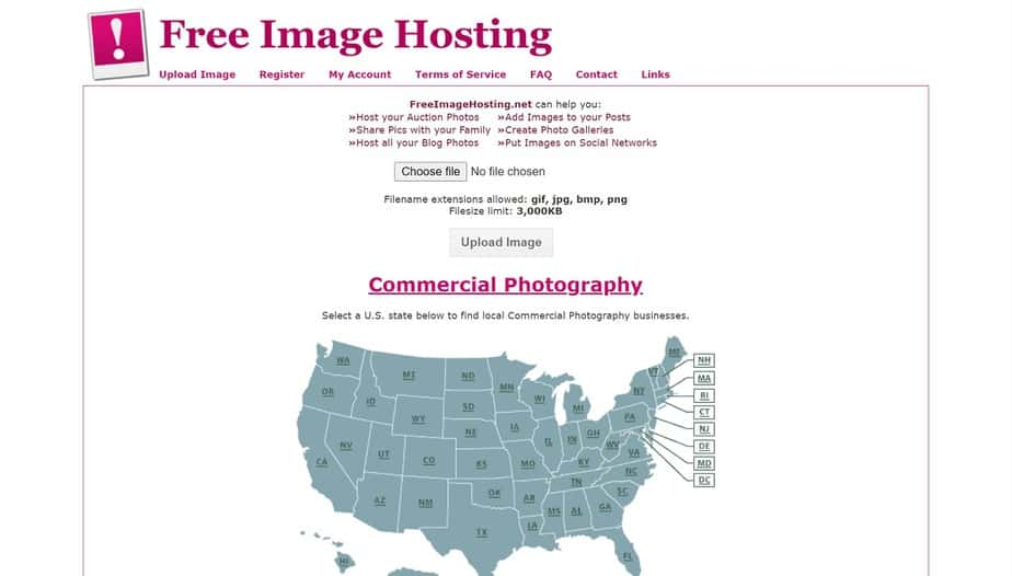 free image hosting website like photobucket