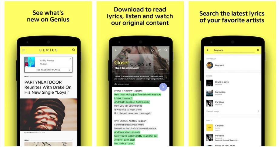 lyrics app without internet