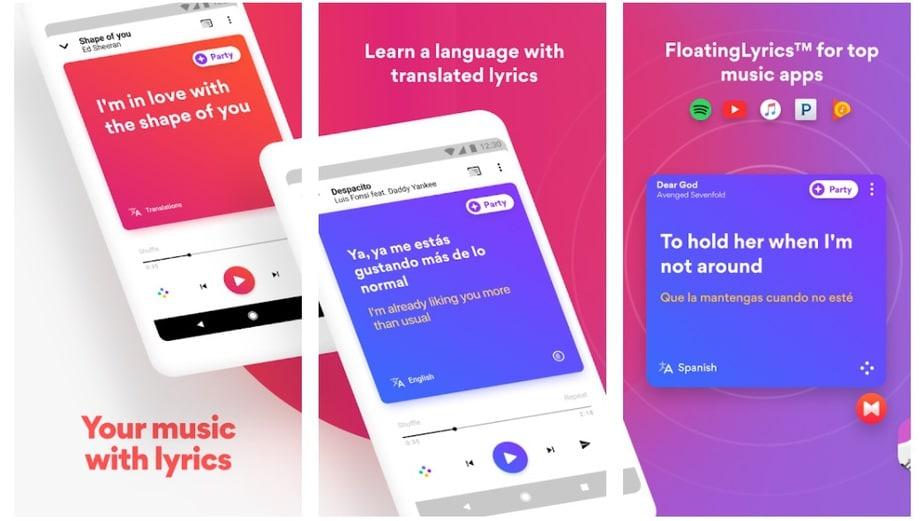 song lyrics app