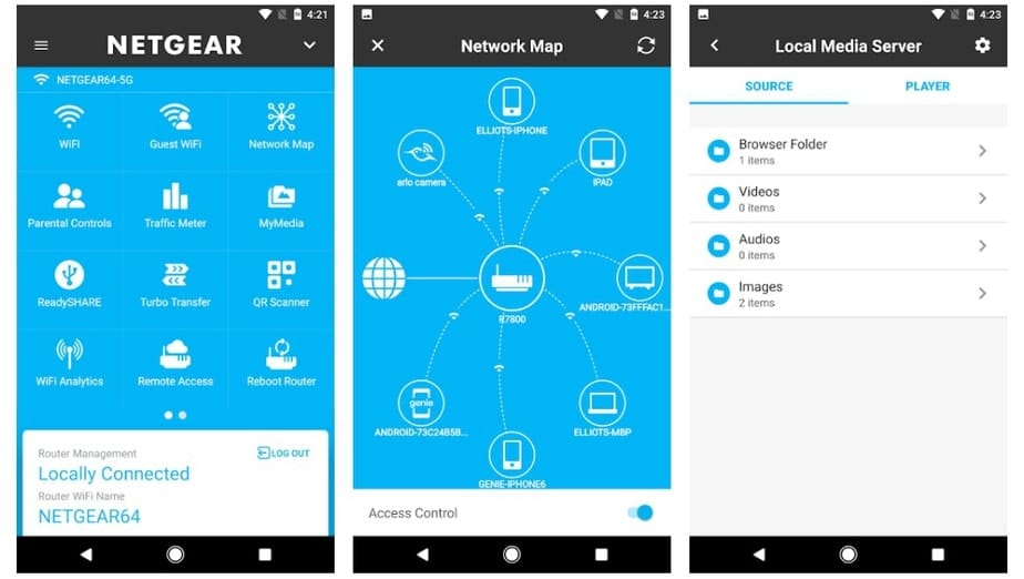 router management app android