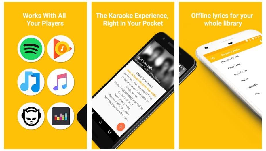 lyrics app offline