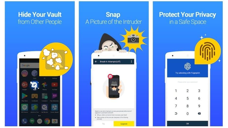 folder locking app for android
