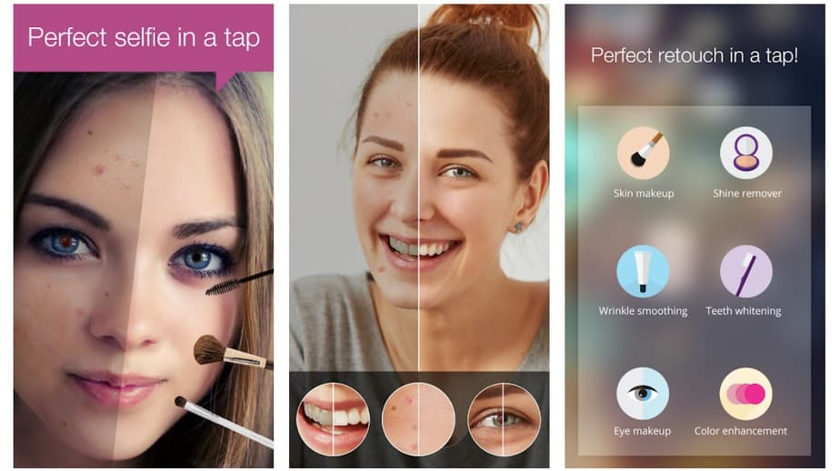 clean face app, face enhancer app