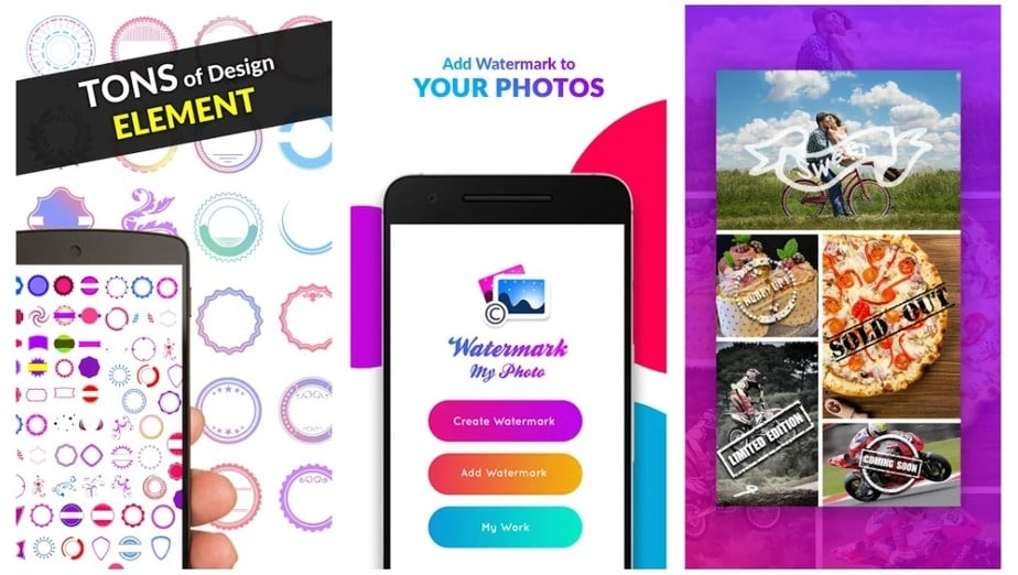 watermark photo app android