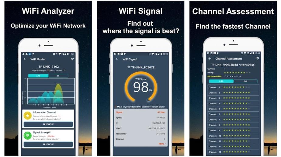 WiFi Analyzer tool android