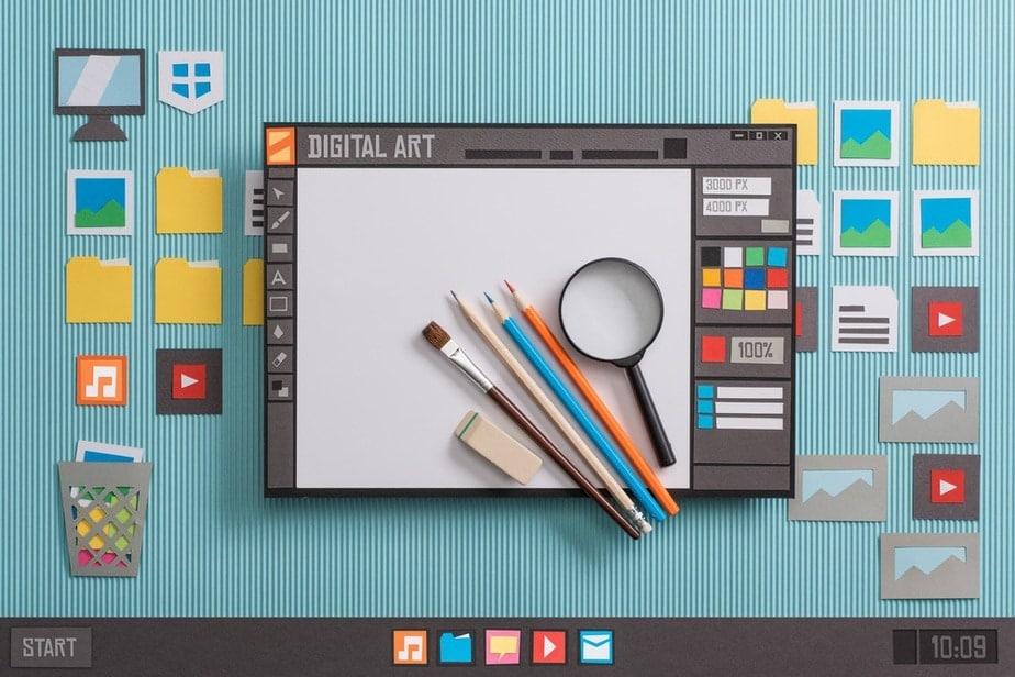 Digital Art Software for Computer
