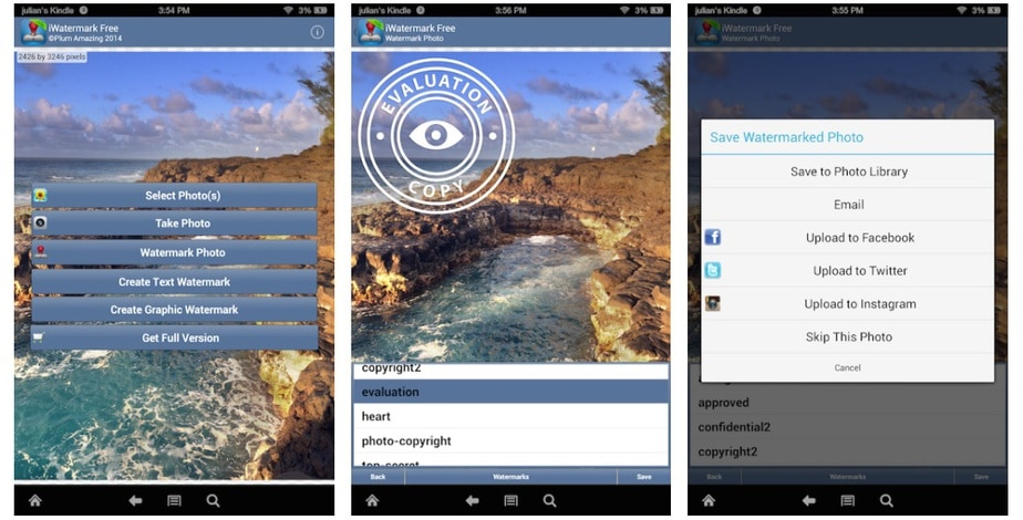 watermark app android