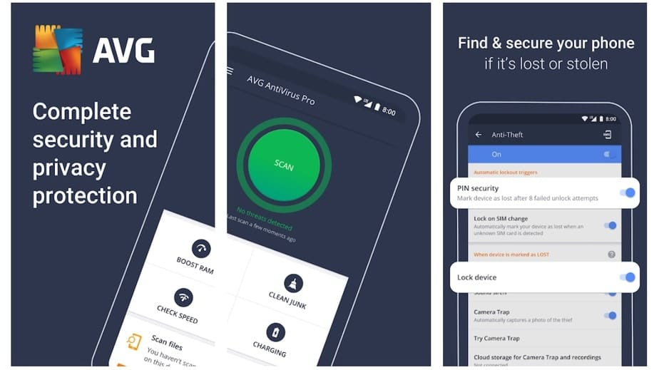 free anti theft app for android