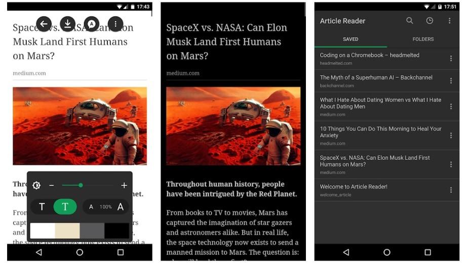 Article Reader Offline - pocket alternative offline