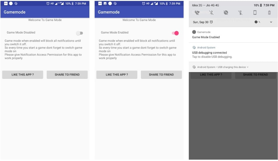 do not disturb android app