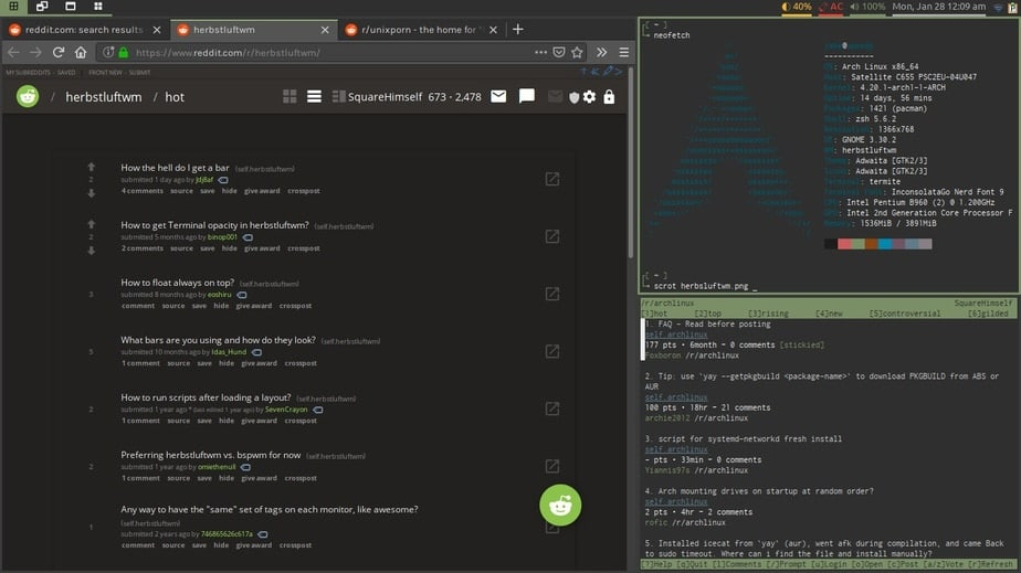 linux window manager for multiple monitors