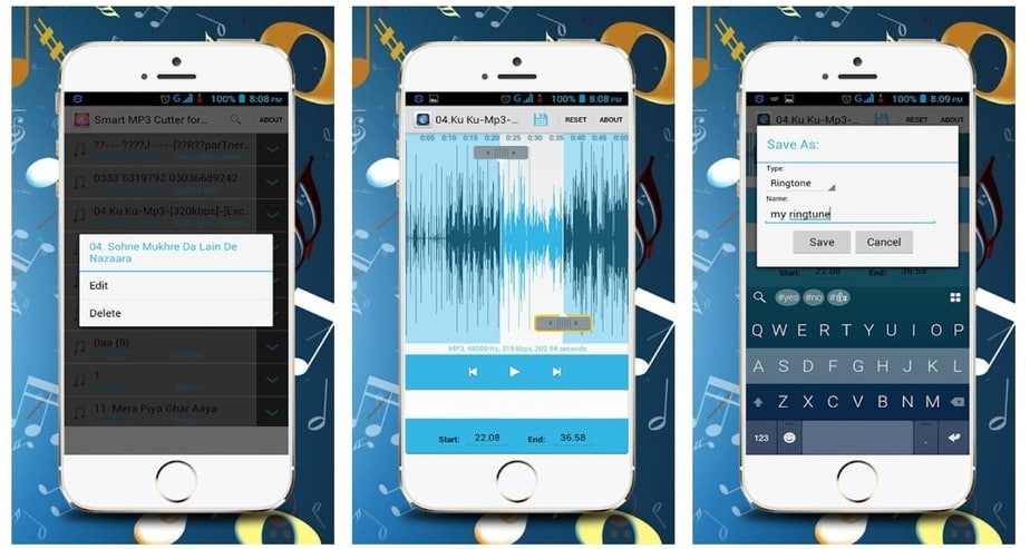 mp3 cutter android app
