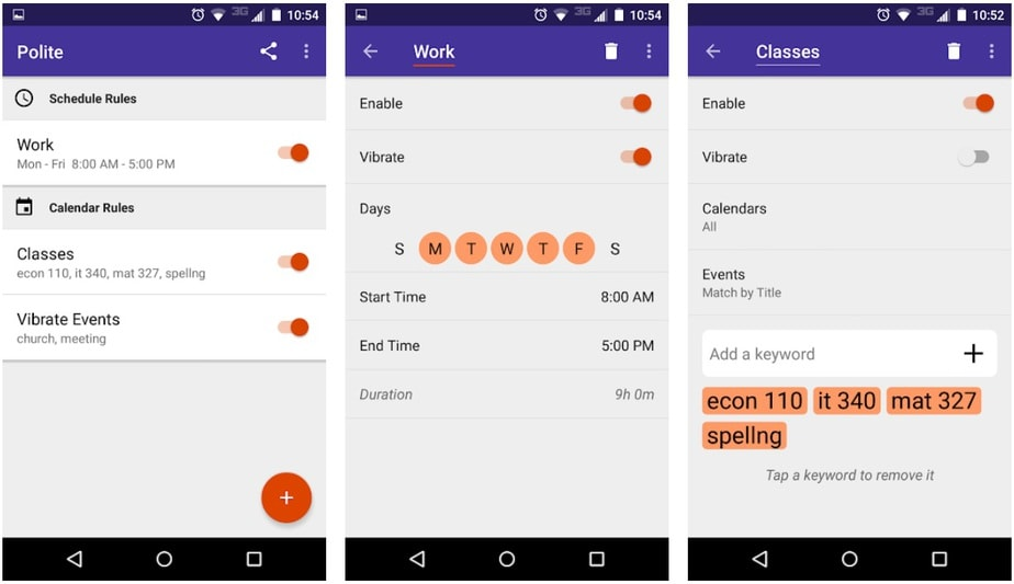 do not disturb app for android