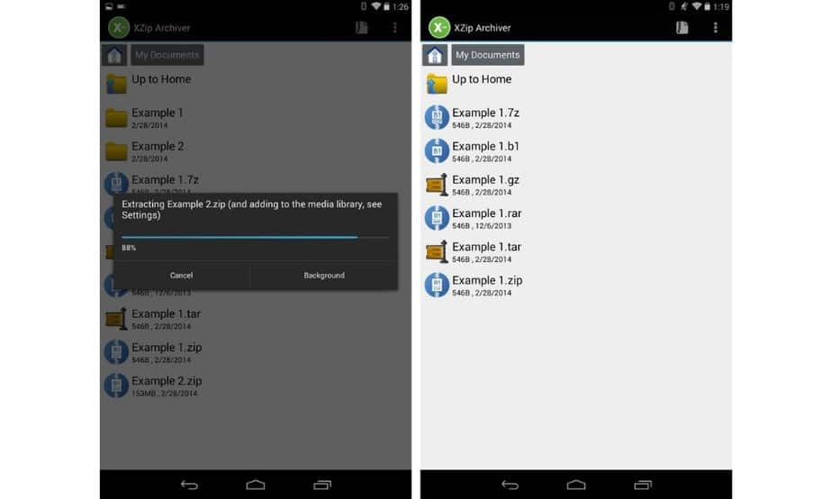 zip file app for android