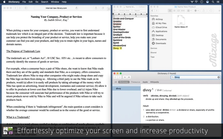 mac windows manager