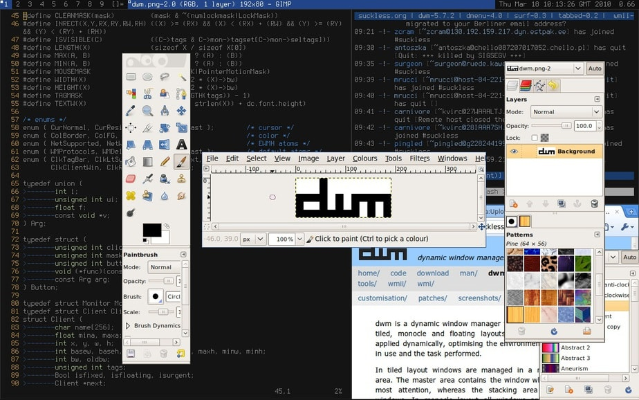 linux dynamic window manager