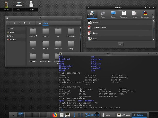 lightest window manager linux