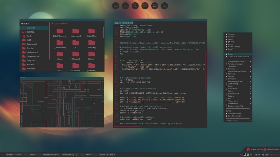 linux lightweight window manager