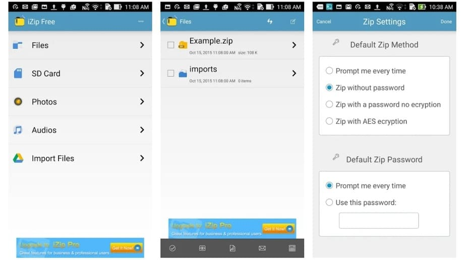 app to unzip files on android