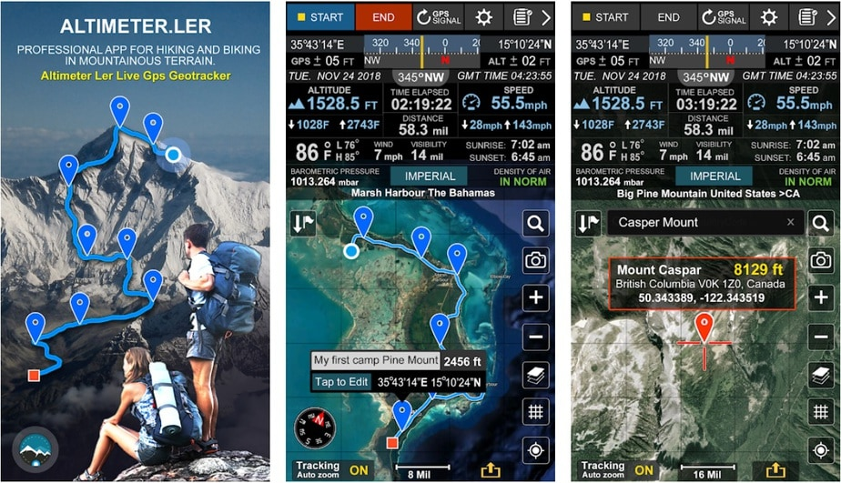 android altimeter