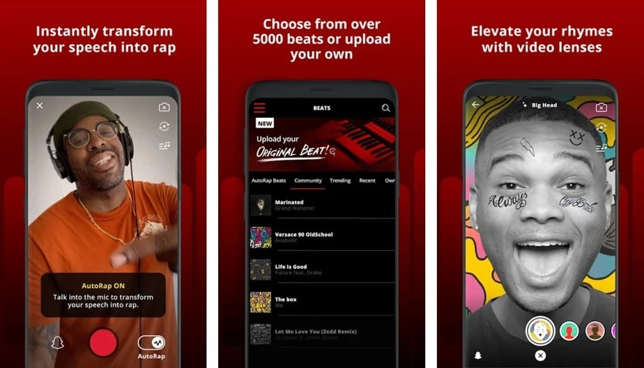 rap app for iphone, rap app for android