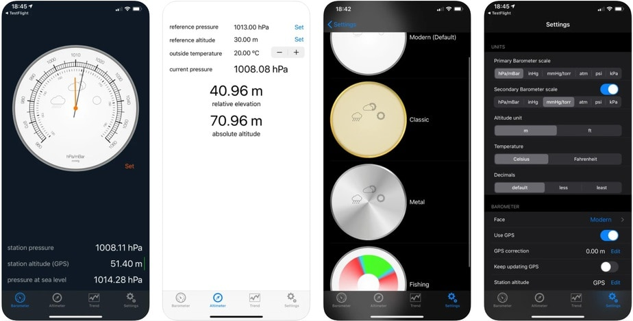 altitude app for iphone, altimeter app for iphone