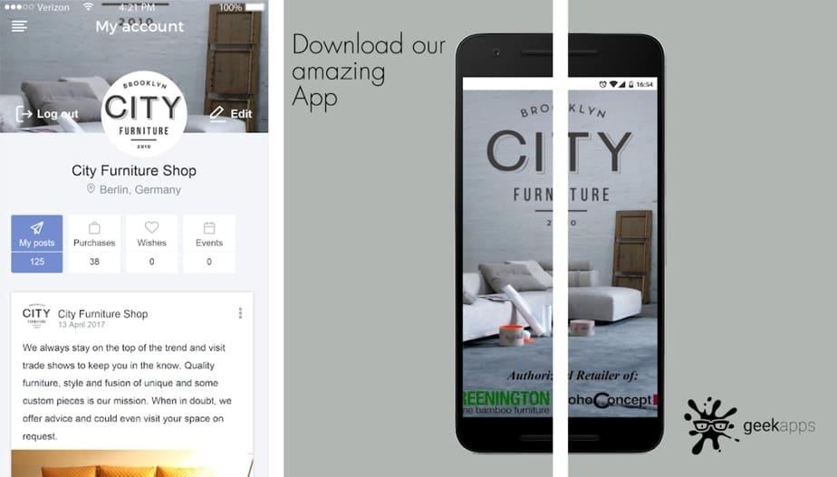 app to buy furniture, home furniture app