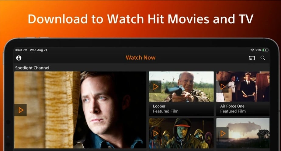 free movie app ipad, app to watch free movies on ipad