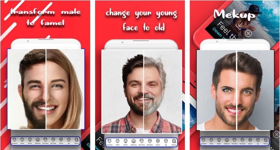 gender change app, gender change app android