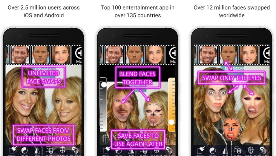 gender switch app, face changer app