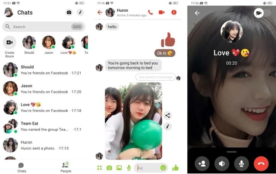 fake text message prank, fake facebook messenger app