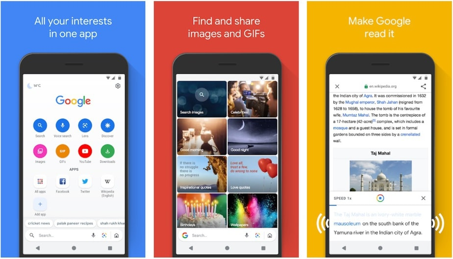 low storage app android