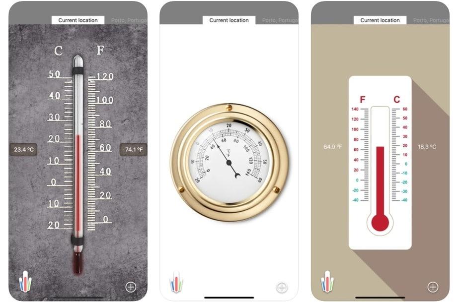 room temperature app iphone, indoor temperature app iphone