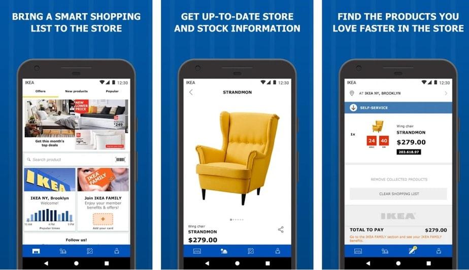 cheap furniture app, home decor shopping app